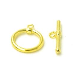 Kapittelslot goud 15mm (5 st.)