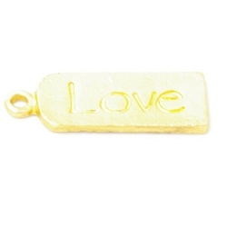 Bedel 'Love' DQ matgoud 22mm (5st.)