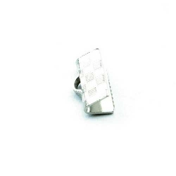Lintklem zilver 16x6 mm (6 st.)