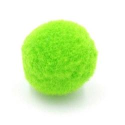 Pompon 20mm groen (5 stuks)