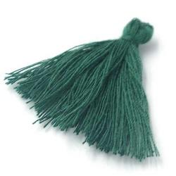 Kwastje groen 27mm (3 st.)