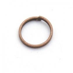 Ring split brons 10 mm (20 st.)