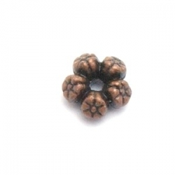Spacer, brons, 7 mm (20 st.)