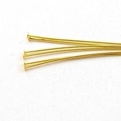 Nietstiften, goud, 25 mm (10 gram)