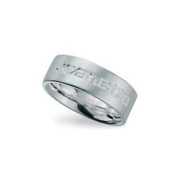 Ring, Sterling zilver, maat 19 (1 st.)