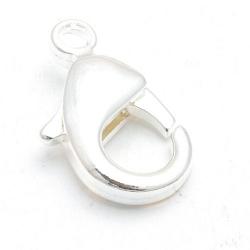 Karabijnslot zilver 28 mm (3 st.)