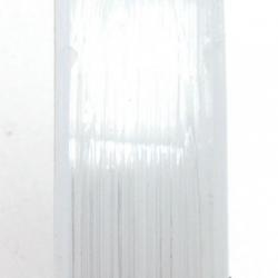 Elastiek rijgdraad 1.0mm transparant (10 meter)