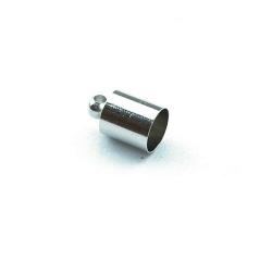 Eindkapje antique zilver rond 10 mm (10 st.)