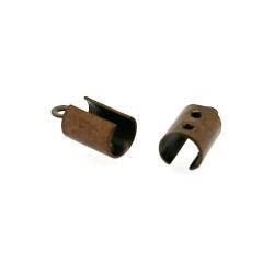 Veterklem, brons, 4 mm (25 st.)