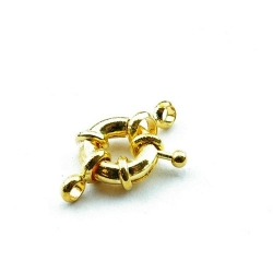 Boeislot, goud, 10 mm (3 st.)