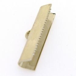 Lintklem, zilver, 26 x 6 mm (6 st.)