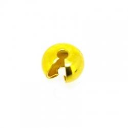 Knijpkraalverberger, goud, 3 mm (25 st.)