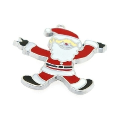 Hanger Santa is jumping! 36mm (1 st.)
