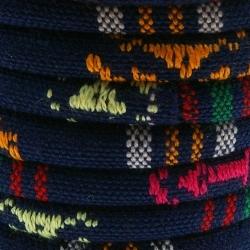Aztec koord rond donkerblauw 6mm (1 mtr.)